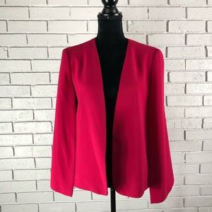 Zara Women's Pink Cape Jacket Size Large